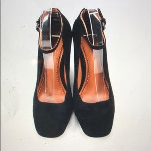 New black suede Mary Jane pumps by Coach 6 5 5.5